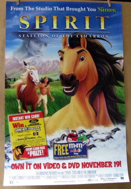 SPIRIT STALLION OF THE CIMARRON - 2002 - One Sheet Movie Poster - 27