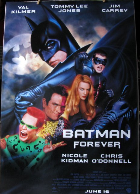 BATMAN FOREVER – 1995 - One Sheet Movie Poster - 27