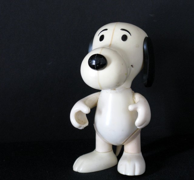 PEANUTS - VINTAGE SNOOPY PVC FIGURE - United Feature Syndicate, 1966 - Adorable figure of the classic puppy. Stands 6 1/2