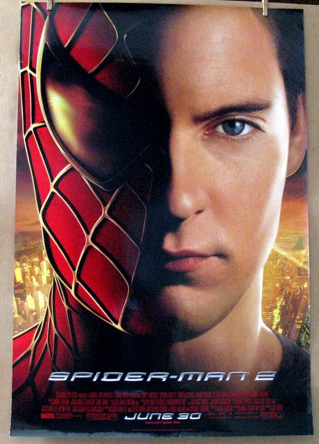 SPIDERMAN 2 - 2004 - One Sheet Movie Poster - 27