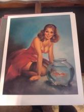 LIMITED ED. MEISEL GALLERY - THE GREAT AMERICAN PIN-UP COLLECTION PRINT SET