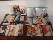 HUGE MARILYN MONROE MOVIE LOT TO INC. 10 VHS - 16 DVD'S & ALSO CD'S INCLUDING GOLD COLLECTION, MUCH OF THIS LOT IS SEALED, NEVER OPENED