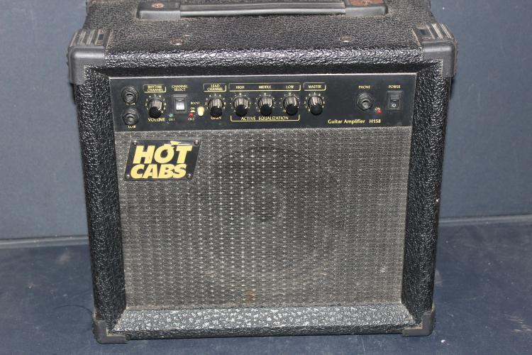 HOT CABS GUITAR AMPLIFIER H158 WORKS