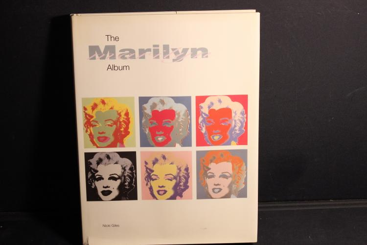 THE MARILYN ALBUM BY NIKKI GILLES 304 PAGES EXCELLENT CONDITION WITH JACKET