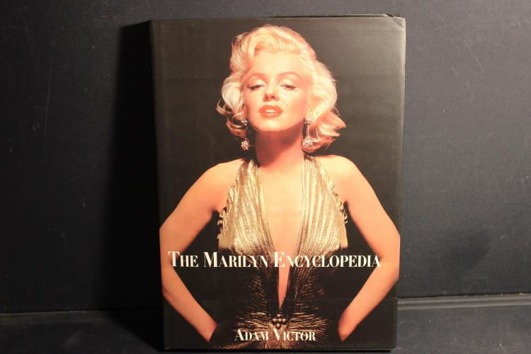 THE MARILYN ENCYCLOPEDIA BY ADAM VICTOR 341 PAGES - MANY GREAT PHOTOS AND STORIES - EXCELLENT CONDITION WITH JACKET