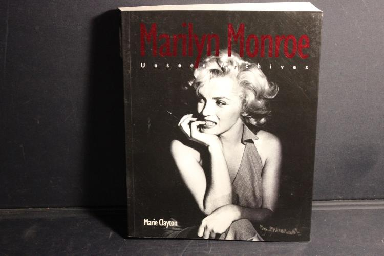 MARILYN MONROE UNSEEN ARCHIVES BY MARIE CLAYTON 382 PAGES GREAT BOOK