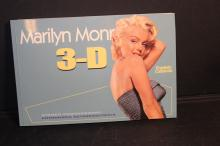 MARILYN MONROE 3-D SOFTCOVER WITH GLASSES 95 PAGES