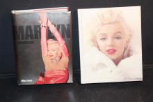 2 EXCELLENT HARDCOVER BOOKS MARILYN MONROE