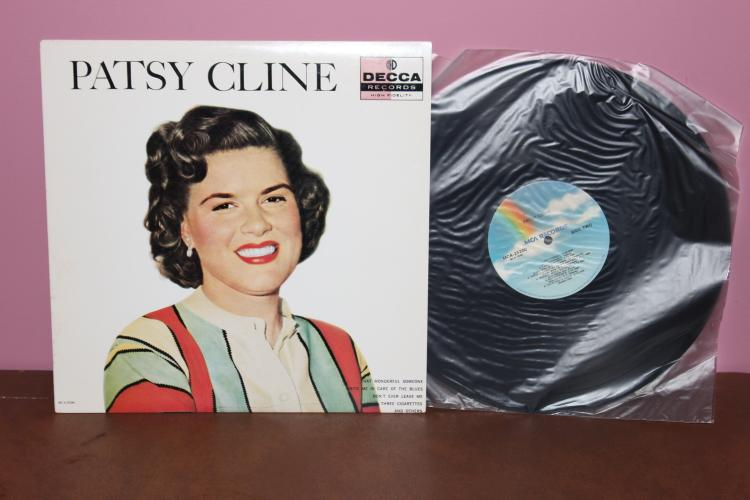PATSY CLINE DECCA RECORDS ORIG. REISSUED 1988 MCA RECORDS - NEAR MINT
