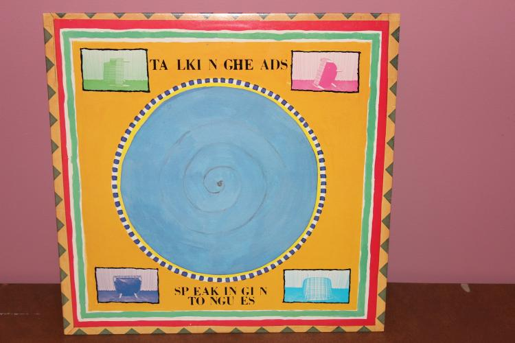 TALKING HEADS L.P. SPEAKING IN TONGUES - SIRE RECORDS 1983 - NEAR MINT