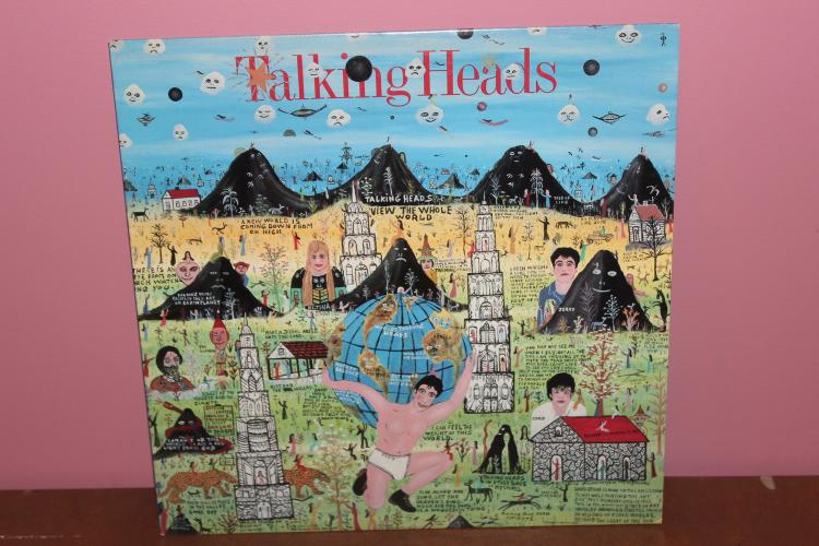 TALKING HEADS 1985 LITTLE CREATURES - NEAR MINT COND. INDEX MUSIC