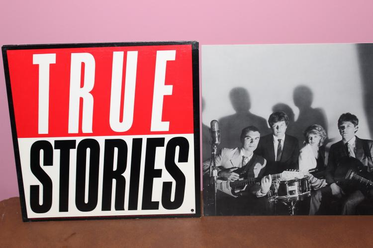 TALKING HEADS TRUE STORIES 1986 - SIRE RECORDS - NEAR MINT