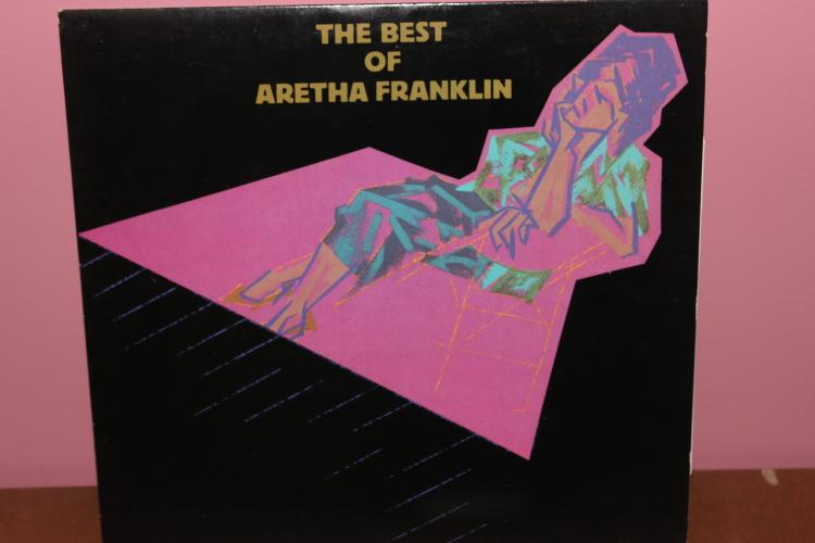 1984 ATLANTIC RECORDS BEST OF ARETHA FRANKLIN - NEAR MINT COND