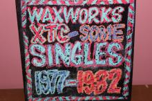 WAXWORKS XTC. 1982 VIRGIN RECORDS - SOME SINGLES VINYL - MINT COVER - MINOR BLEMISHES
