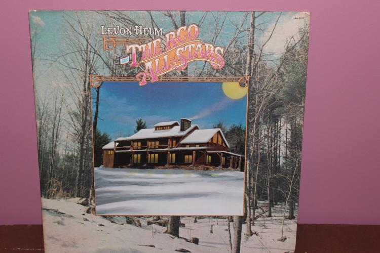 1977 1ST ISSUE LEVON HELM & THE RCO ALLSTARS ABC RECORDS WOODSTOCK STOCK ROC STUDIOS - VINYL MINT - COVER CORNER DAMAGE - WINDOW COVER
