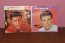 2 RICKY NELSON 45 – IMPERIAL 5614-5741 ORIGINAL VERY GOOD CONDITION