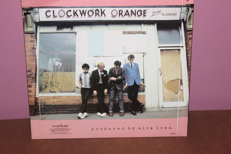 ELVIS COSTELLO 1979 CLOCKWORK ORANGE RARE RADAR SCOPE RECORDS – MADE IN THE U.K. NEAR MINT PICTURE SLEEVE