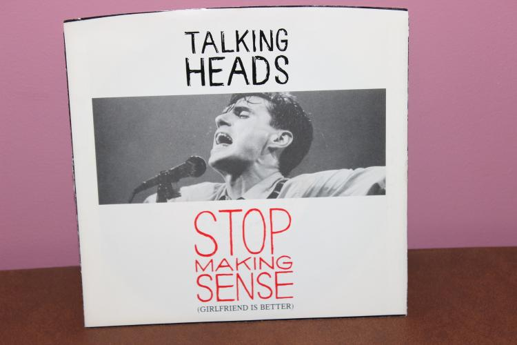TALKING HEADS STOP MAKING SENSE B/W HEAVEN – GIRLFRIEND IS BETTER