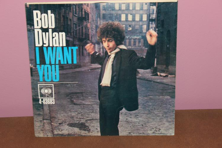 BOB DYLAN – I WANT YOU – COLUMBIA RECORDS 4-43683