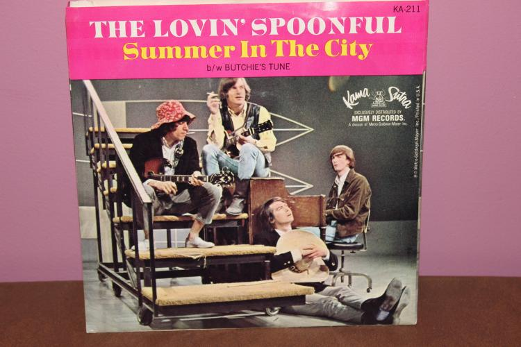 THE LOVIN SPOONFUL – KAMA SUTRA RECORDS 45 KA 211 SUPER SLEEVE NEAR MINT