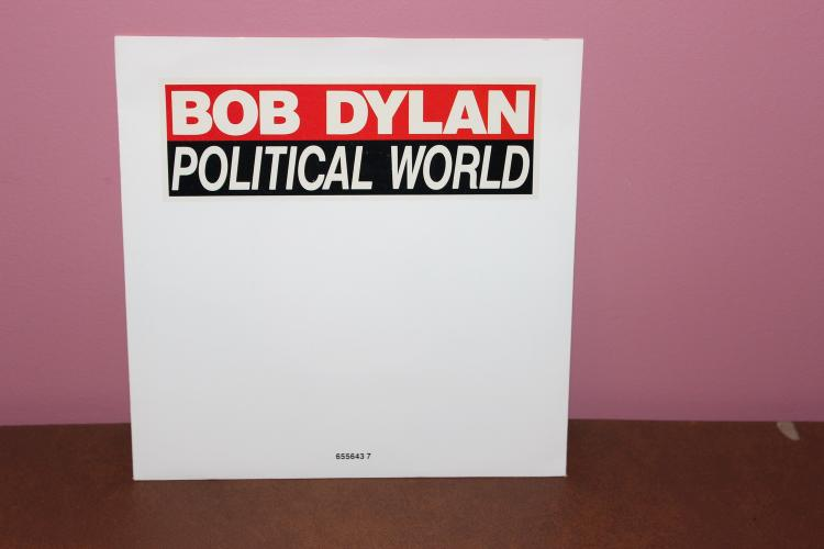 1990 BOB DYLAN POLITICAL WORLD – RING THEM BELLS – CBS RECORDS NEAR MINT