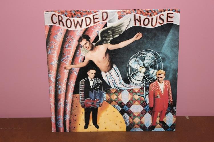CROWDED HOUSE 1986 CAPITAL RECORDS – NEAR MINT