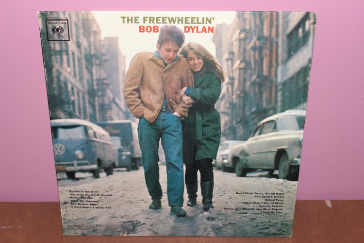 THE FREE WHEELIN – BOB DYLAN  1963 COLUMBIA RECORDS ORIG. VERY GOOD CONDITION