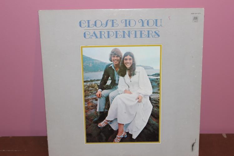 CARPENTERS – CLOSE TO YOU L.P. A.M. RECORDS 4271 NEAR MINT