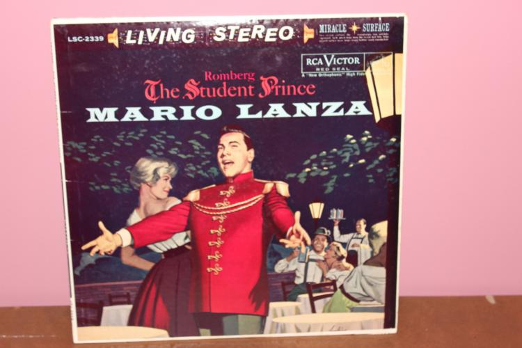LANZA LANZA L.P. ROMBERG – THE STUDENT PRINCE R.C.A. RECORDS 1960 NEAR MINT