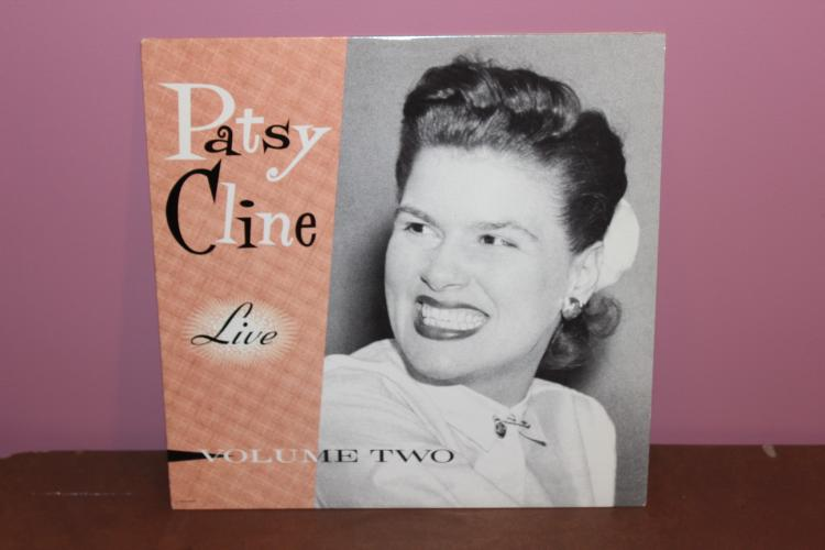 PATSY CLINE LIVE IN CONCERT – VOL# 2 REISSUED 1980 NEAR MINT