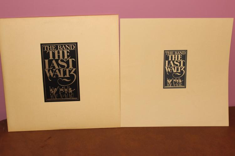 SPECIAL 3 RECORD L.P. SET THE BAND 1978 – THE LAST WALTZ COMPLETE WITH SEVEN PAGE BOOKLET – WARNER BROS. RECORDS – NEAR MINT