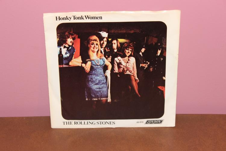 ROLLING STONES HONKY TONK WOMEN – LONDON 45-910 45 R.P.M. NEAR MINT