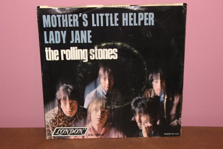 ROLLING STONES – LADY JANE – LONDON RECORDS 45-902 VERY GOOD CONDITION