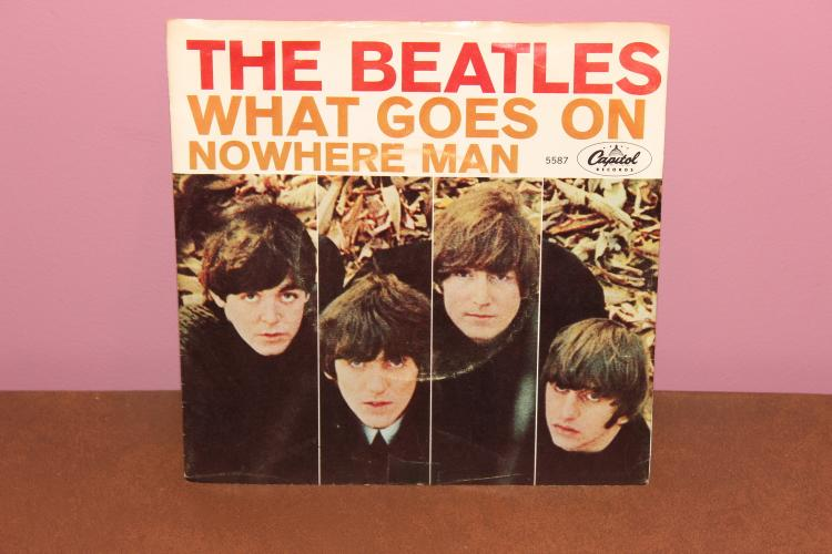 BEATLES NOWHERE MAN – CAPITAL 5587 RECORDED IN ENGLAND- NEAR MINT