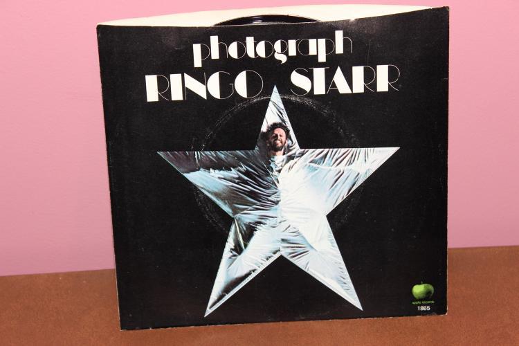 RINGO STARR- APPLE 1865 1973- RECORDED IN U.K. NEAR MINT