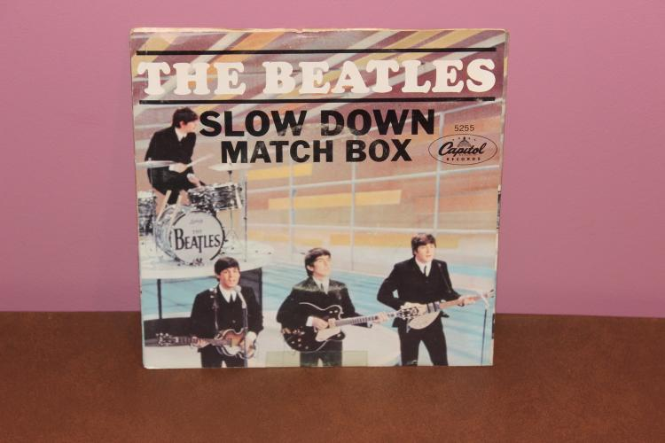 BEATLES – MATCHBOX 1964 – CAPITAL 5255 RECORDED IN ENGLAND – NEAR MINT