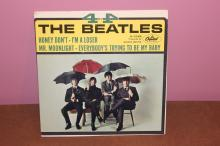 4x4 BEATLES Â? CAPITAL  R-5365 GREAT CARDBOARD SLEEVE RECORDED IN ENGLAND