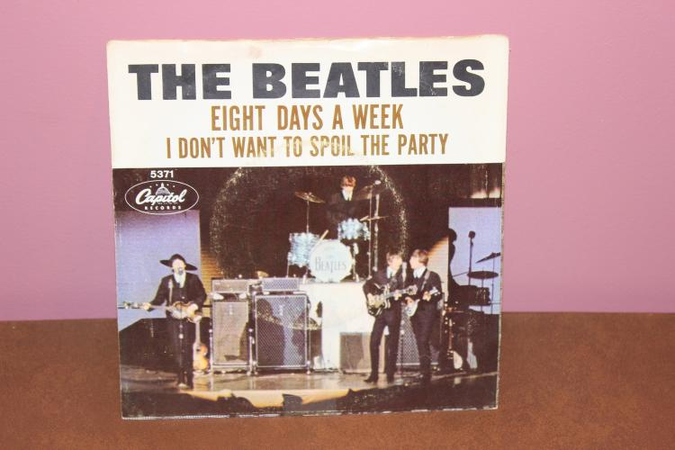 BEATLES RECORDED IN ENGLAND 1ST PRESSING 45 NEAR MINT – COVER VERY GOOD COND. CAPITAL RECORDS