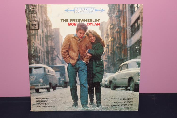 EARLY – THE FREE WHEELIN BOB DYLAN COLUMBIA -CS 8786 LIKE NEW