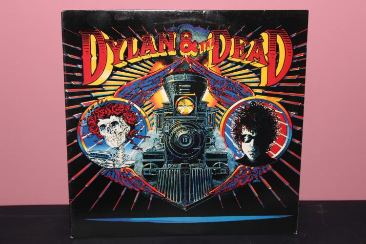 DYLAN AND THE DEAD 1989- COLUMBIA – BL 45056 ORIGINAL SLEEVE NEAR MINT