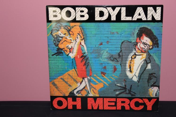BOB DYLAN OH MERCY 1989 CBS RECORDS AL 45281 NEAR MINT