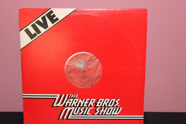 NOT FOR SALE ALBUM PROMOTIONAL USE ONLY WARNER BROS. MUSIC SHOW 1979 TALKING HEADS LIVE ON STAGE NEAR MINT