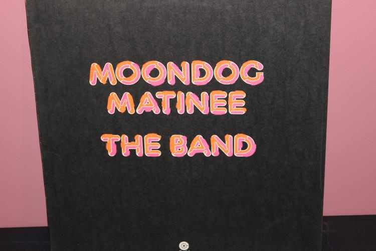 MOON DOG MATINEE THE BAND – CAPITAL RECORDS 1973 NEAR MINT