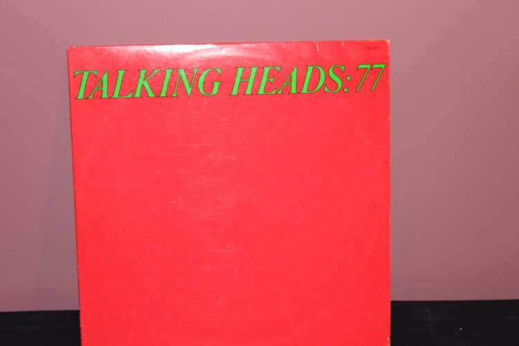 TALKING HEADS -77 SIRE RECORDS NEAR MINT COND.