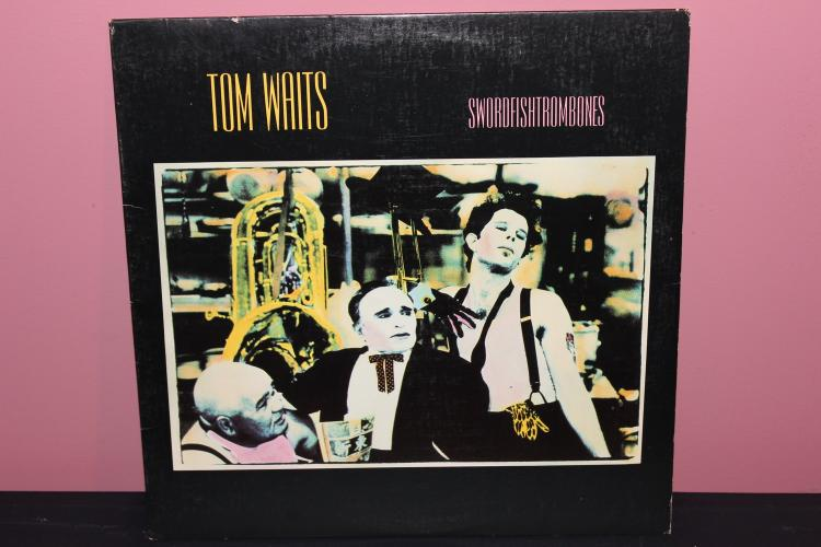 TOM WAITS 1983 – ISLAND RECORDS – SWORD FISH TROMBONES NEAR MINT
