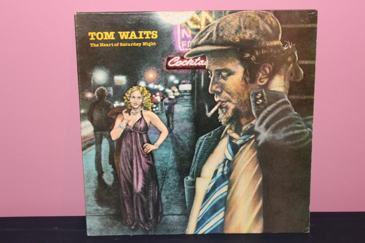 WAITS – THE HEART OF STURDAY NIGHT – ASYLUM RECORDS 1974 NEAR MINT
