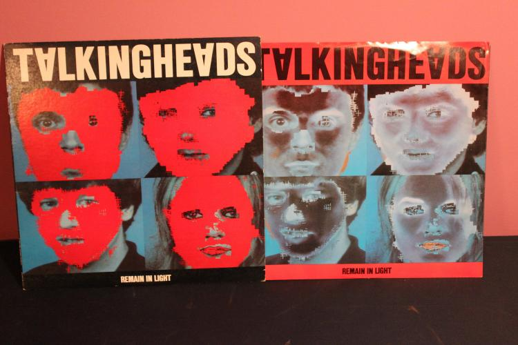 TALKING HEADS – REMAIN IN LIGHT – SIRE RECORDS 1980 NEAR MINT