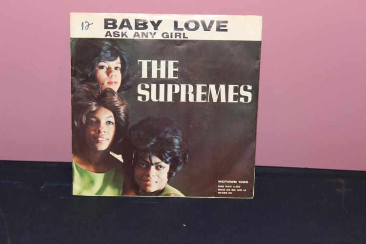 BABY LOVE – THE SUPREMES – MOTOWN 1066-1964 VERY GOOD CONDITION