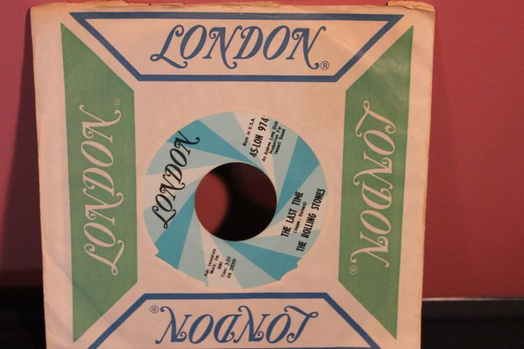 ROLLING STONES – THE LAST TIME – LONDON RECORDS 45 LON 9741 NEAR MINT