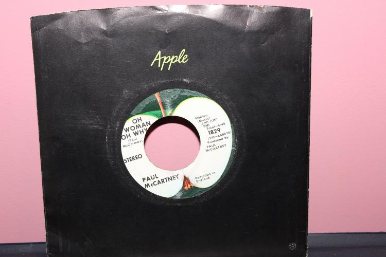 PAUL MCCARTNEY – APPLE RECORDS 1829 RECORDED IN ENGLAND – ANOTHER DAY 45 NEAR MINT